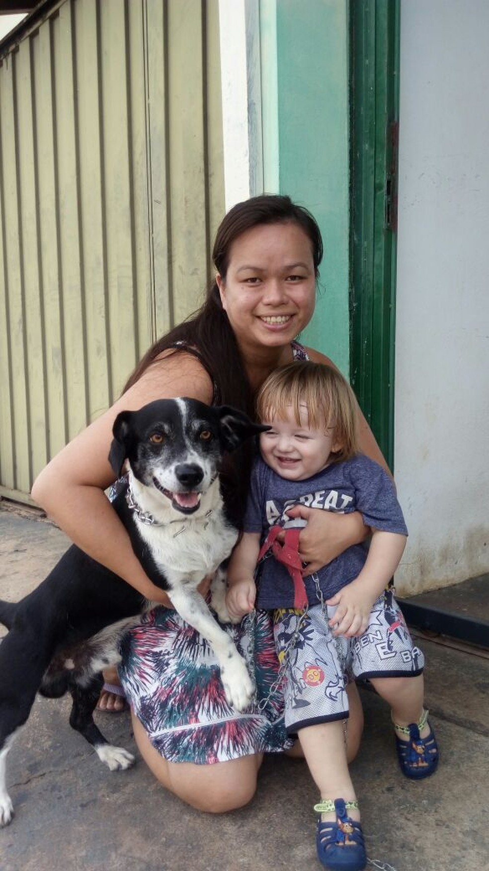 Sebastião foi resgatado em segurança e devolvido aos donos em Novo Horizonte (SP) (Foto: Kall Rigamonte/Arquivo Pessoal)