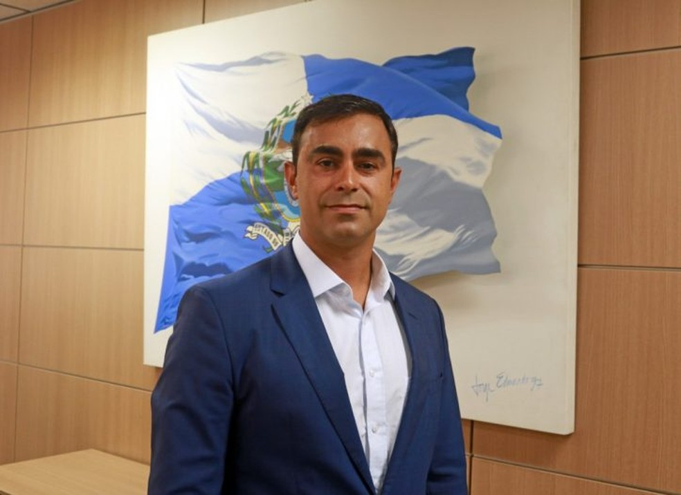 Secretário de Esporte, Lazer e Juventude, Felipe Bornier — Foto: Divulgação