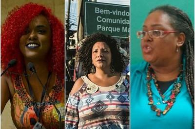 Daniela Monteiro, Renata Souza e Mônica Francisco trabalhavam com Marielle e pretendem disputar uma vaga na Assembleia Legislativa do RJ