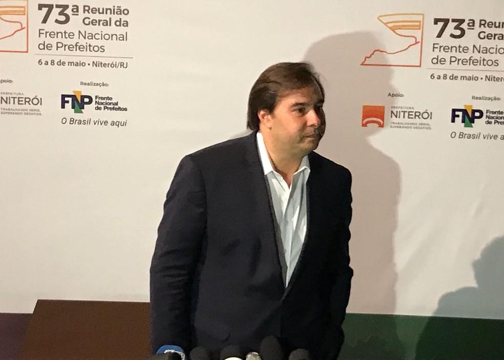 Rodrigo Maia (Foto: Henrique Coelho/G1)