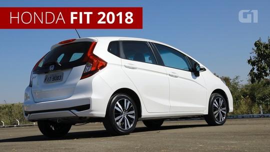Honda Fit muda na linha 2018; preços chegam a R$ 80 mil