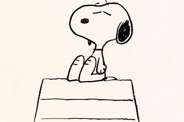 O cachorrinho Snoopy da série Peanuts (Foto: Reprodução)