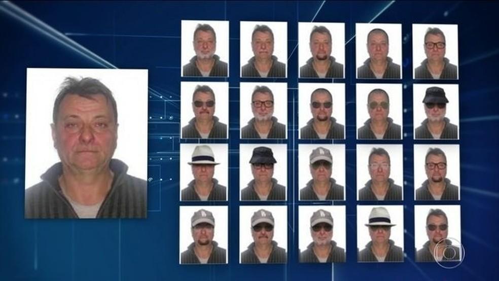 Cesare Battisti tem nome incluído em lista da Interpol e PF busca italiano — Foto: Reprodução/JN