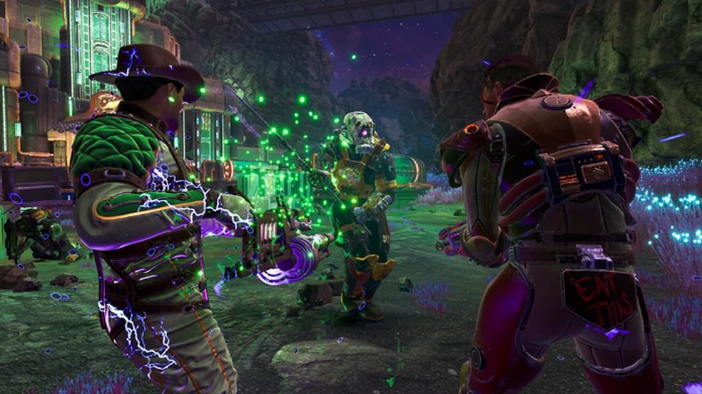 The Outer Worlds: Peril on Gorgon traz a primeira expansão do game com um misterioso novo local para explorar: o Asteroide Gorgon — Foto: Reprodução/PlayStation Blog
