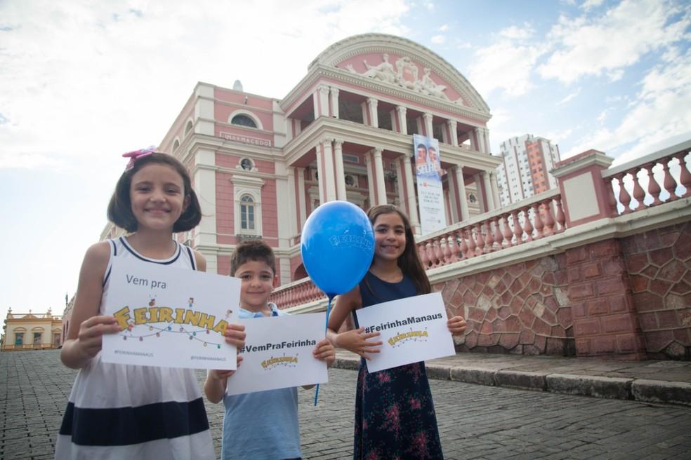 Evento acontece no Largo São Sebastião — Foto: Divulgação