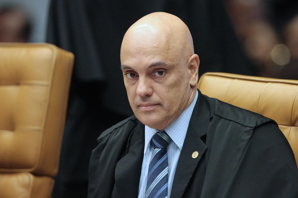 Alexandre de Moraes, ministro do STF — Foto: Carlos Moura/SCO/STF