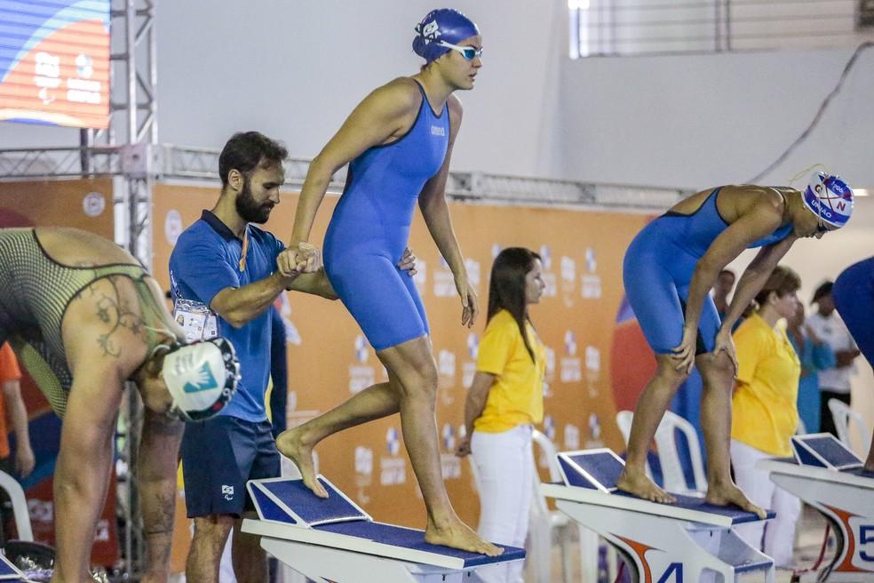 Atleta vinha tendo desmaios após os treinos — Foto: Alê Cabral/CPB