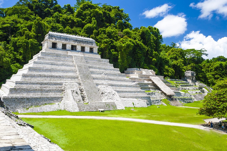 Templo das Inscrições, em Palenque (Foto: Wikimedia/Jan Harenburg)