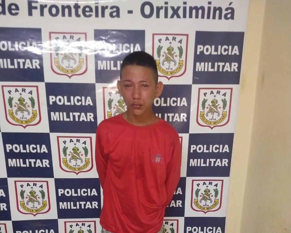 José Antônio confessou durante depoimento o dupla assassinato no Mercado de Oriximiná — Foto: Márcio Garcia/Arquivo pessoal