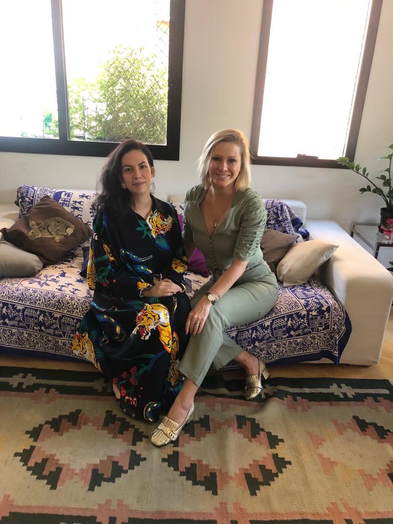 Ana Mattioni e Mônica Salgado (Foto: Arquivo pessoal)