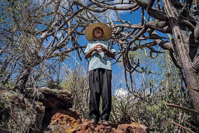 José Francisco Silva é  morador da cidade alagoana de Delmiro Gouveia e foi o primeiro da região a apostar no ecoturismo (Foto: Flávio Forner)