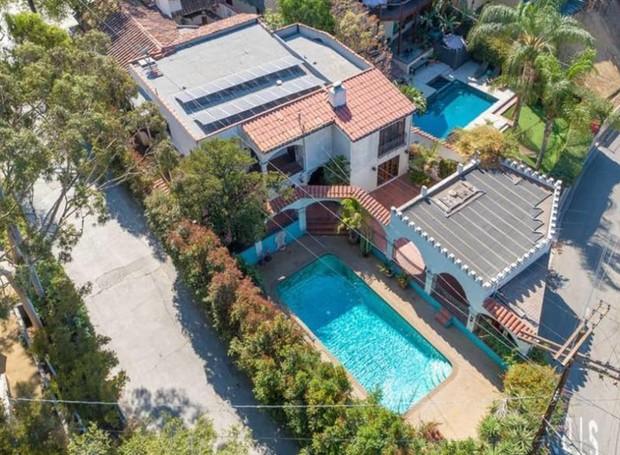 A propriedade pertence ao ator há quase 20 anos (Foto: Hilton & Hyland/ Reprodução)