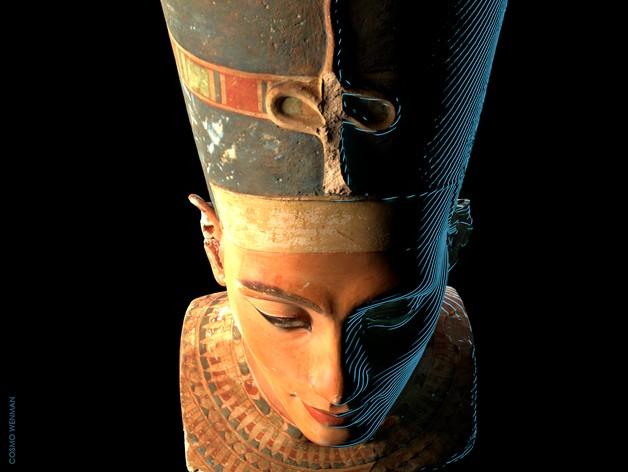 Nefertiti foi uma rainha da da 18ª dinastia do Egito Antigo (Foto: Cosmo Wenman/ Creative Commons )