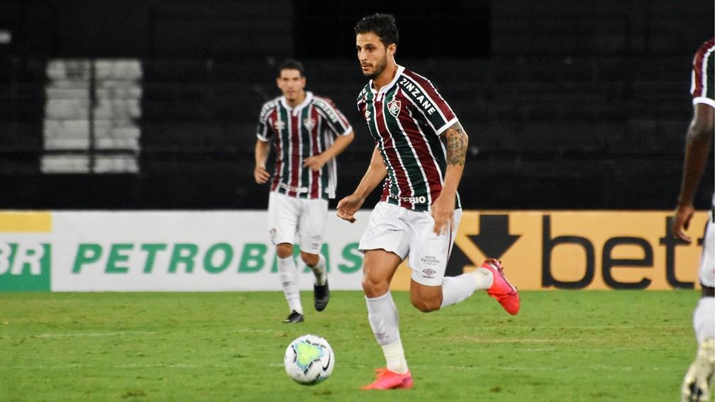 Hudson em ação pelo Fluminense na última temporada — Foto: MAILSON SANTANA/FLUMINENSE FC