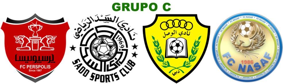 Grupo C: Persepolis, Al Sadd, Al Wasl e Nasaf Qarshi (Foto: Futebol no Japão)