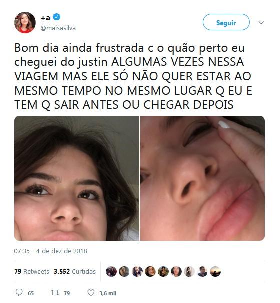 Maisa Silva (Foto: Twitter/Reprodução)