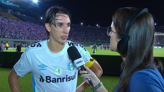Geromel lamenta derrota para o Bahia