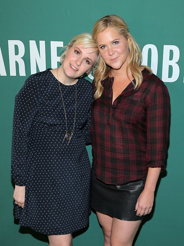 Lena Dunham e Amy Schumer (Foto: Getty Images)