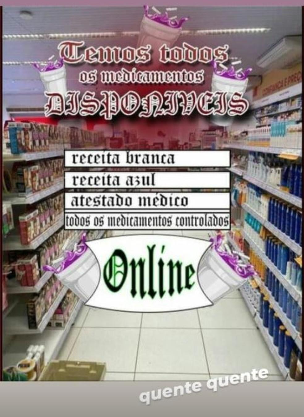Suspeitos anunciavam esquema na internet, no DF — Foto: PCDF/Divulgação