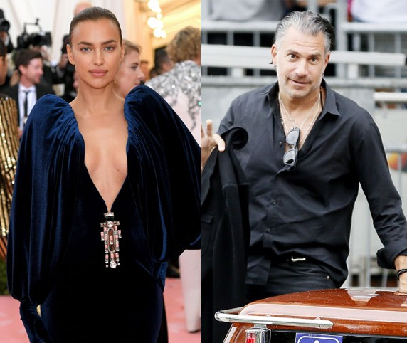 Irina Shayk e Christian Carino (Foto: Getty Images)