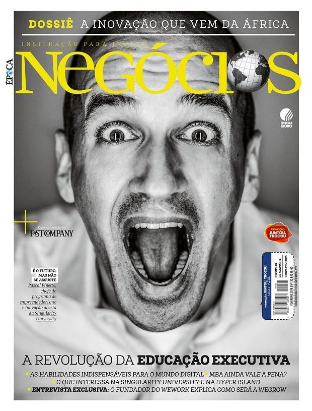 Capa da edição de fevereiro de Época NEGÓCIOS (Foto: Época NEGÓCIOS)