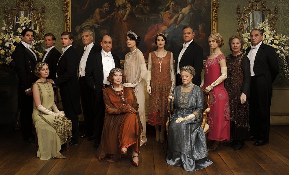 Elenco de 'Downton Abbey' (Foto: Divulgação)