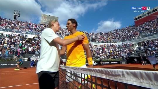 Nadal vence Shapovalov e avança para as quartas do Masters 1000 de Roma