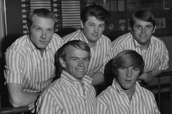 Os membros do grupo The Beach Boys (Foto: Getty Images)