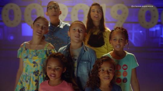 Criança Esperança lança o novo filme da campanha 2019