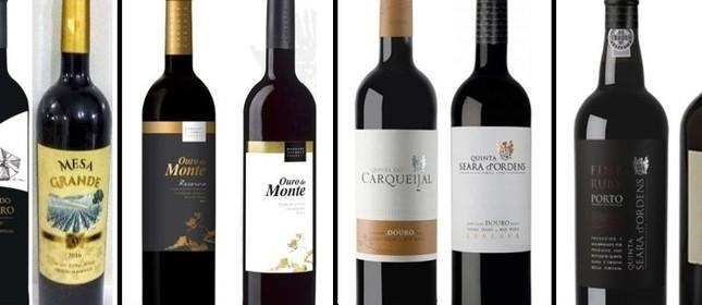 Kits com vinhos protugueses