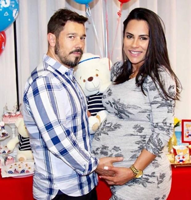 MArco Antonio e Kelly Medeiros (Foto: Reprodução/Instagram)