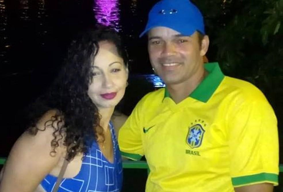 Jaqueline Amorim de Souza e Marcelo Francisco Maciel, vítimas de afogamento — Foto: Redes sociais