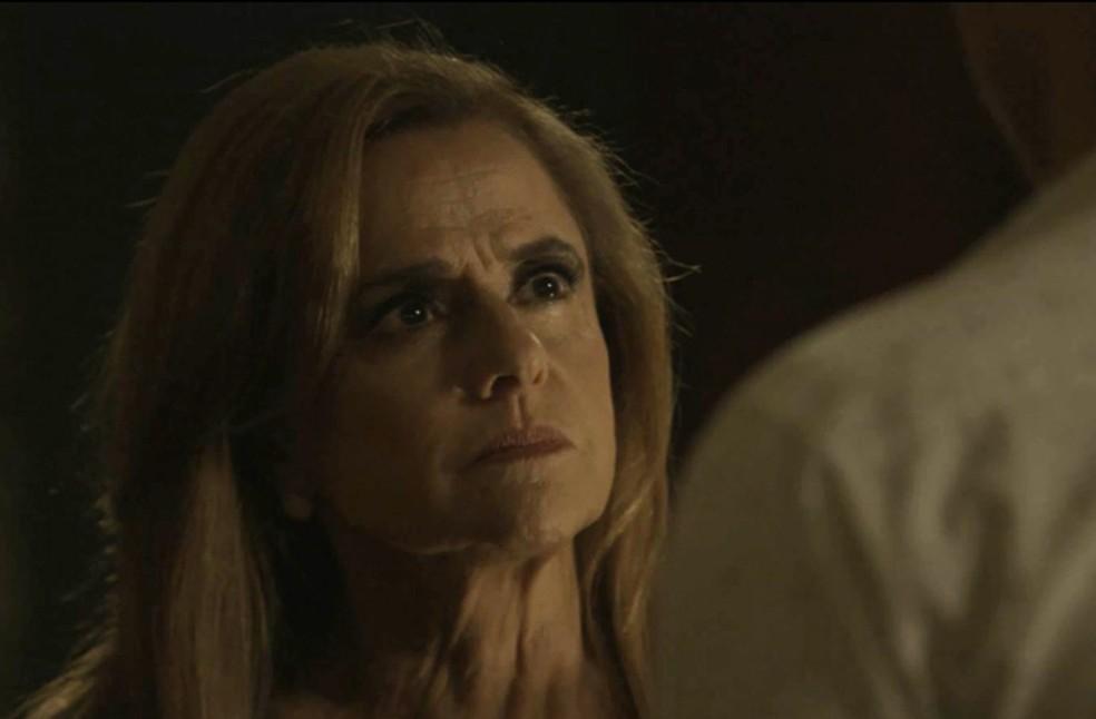 Sophia é inescrupulosa com o filho (Foto: TV Globo)