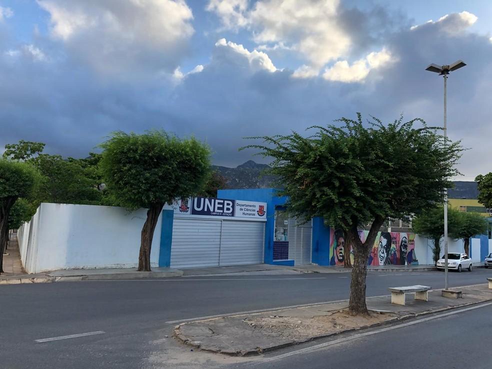 Campus da Uneb em Juazeiro — Foto: Divulgação/MP