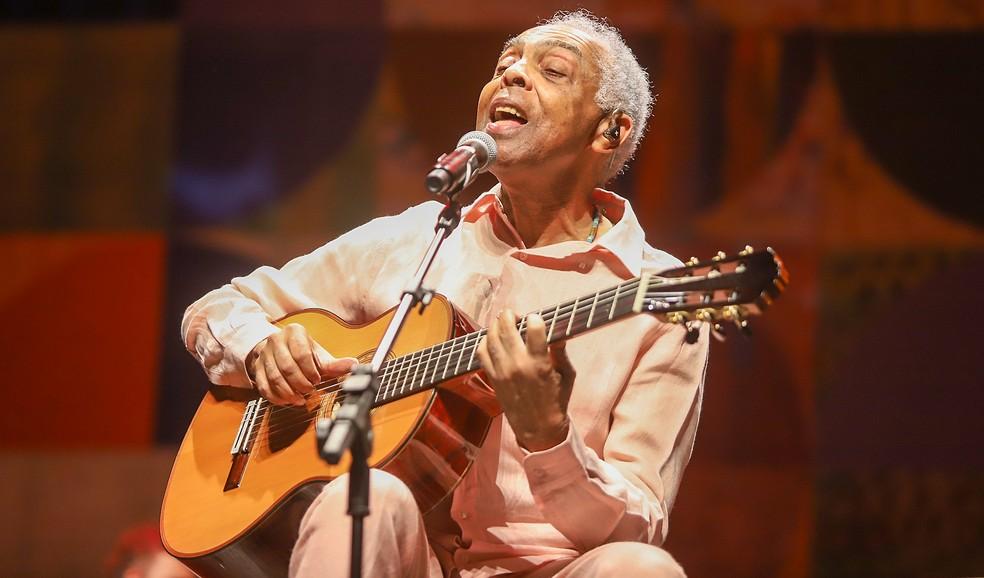 Gilberto Gil — Foto: Ricardo Nunes / Vivo Rio