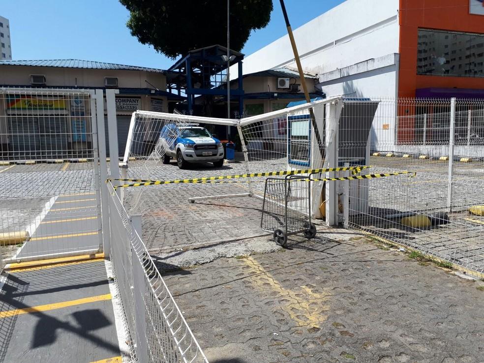 Shopping fica na Avenida Silveira Martins (Foto: Jéssica Smetak/TV Bahia)