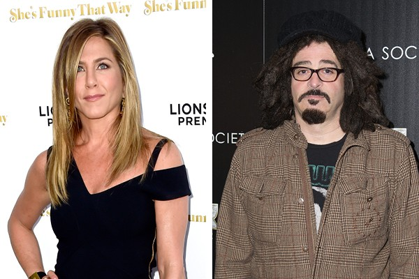 Jennifer Aniston e Adam Duritz (Foto: Getty Images)