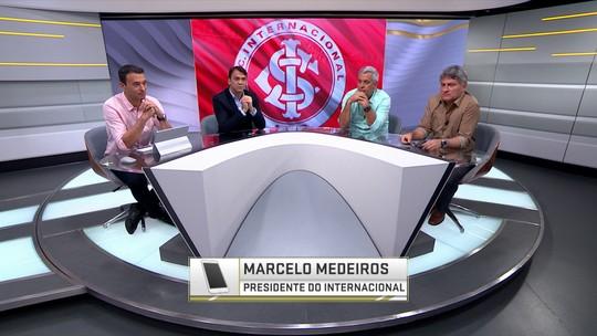 """Presidente do Inter fala sobre pedido de VAR no Brasileirão: """"CBF não vai implementar"""""""