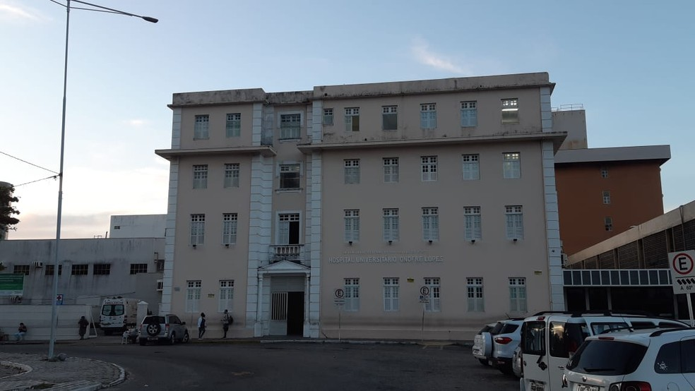 Hospital Universitário Onofre Lopes (HUOL) UFRN Natal RN — Foto: Sérgio Henrique Santos/Inter TV Cabugi
