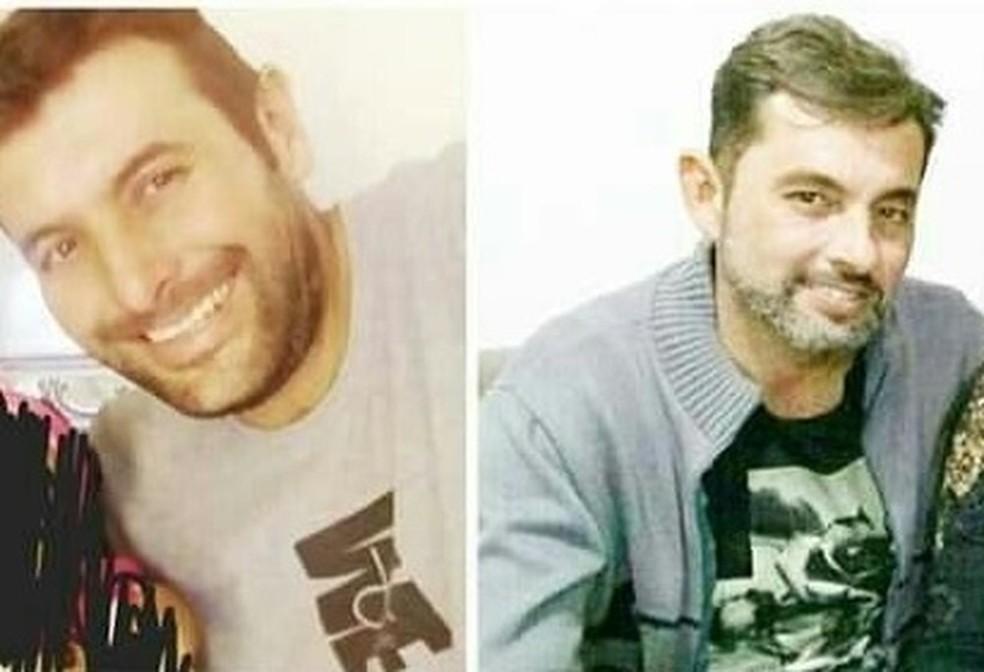 Irmãos foram encontrados mortos em uma área de mata em Caçapava — Foto: Arquivo pessoal