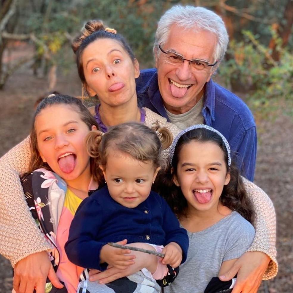 Bianca Rinaldi homenageia o marido, Eduardo Menga, no Dia dos Pais — Foto: Reprodução/Instagram