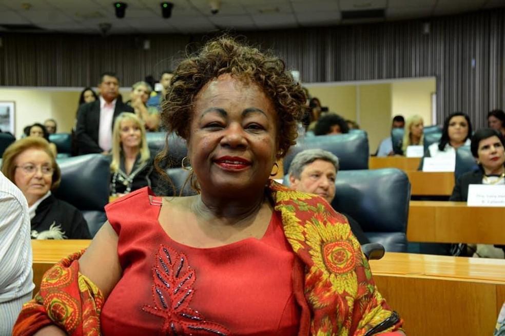 Maria Clementina de Souza era engajada nas questões da participação do negro na sociedade — Foto: Divulgação/Arquivo pessoal