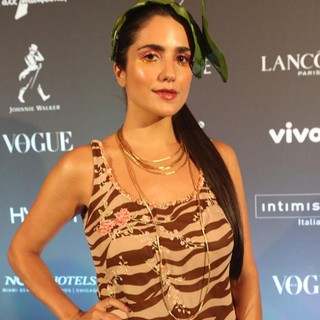 Luiza Souza, do time Vogue, usou joias HStern