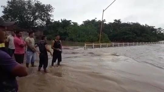 Temporal alaga município de Tuntum no Maranhão