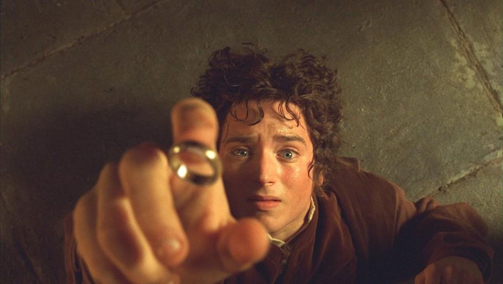 Elijah Wood na saga 'O Senhor dos Anéis' — Foto: Divulgação