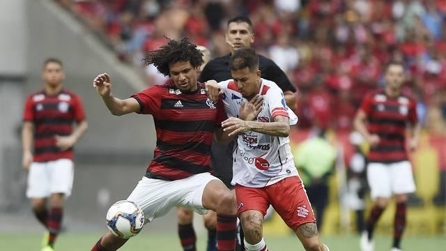Willian Arão, Flamengo x Bangu, Flamengo