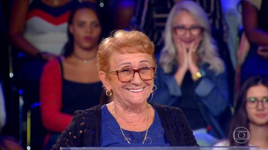Aposentada que ganhou R$ 30 mil no 'Quem Quer Ser Um Milionário' quer realizar sonho antigo com prêmio