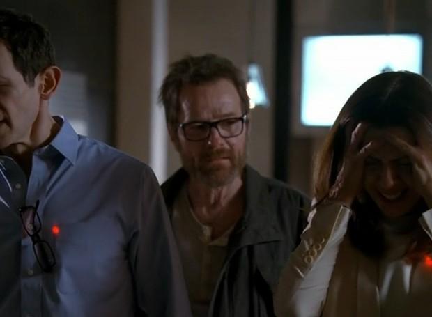 Walter ameaça o casal de morte, caso o acordo proposto não seja cumprido (Foto: Breakin Bad Wikia/ Reprodução)