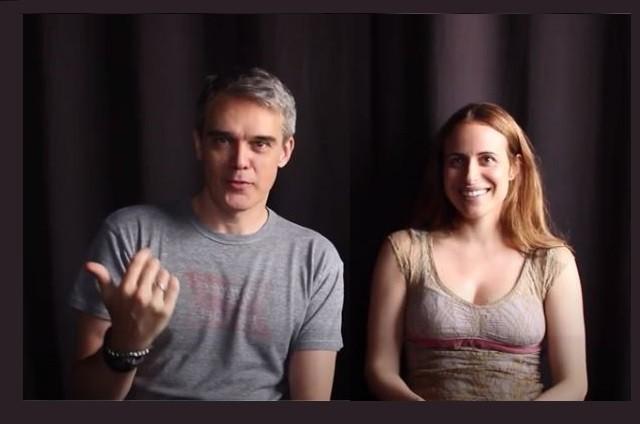 Dalton Vigh e a mulher, Camila  (Foto: Youtube)