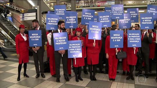 Em dia de greve de tripulantes, Avianca cancela 31 dos 42 voos